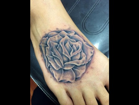 Rose  Foot  Realism  Soft Foot