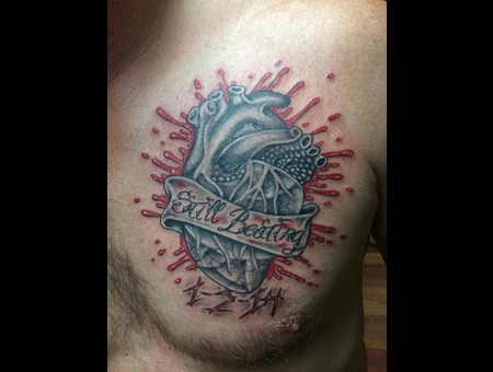 Heart  Blood  Realism  Quote  Chest Chest