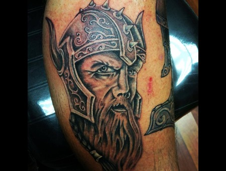 Viking  Portrait  Soldier  Realism  Thor Lower Leg