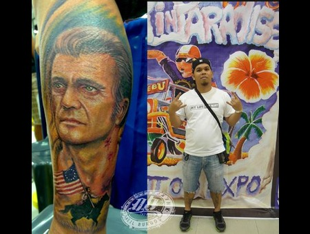 Mel Gibson  The Patriot  Realism  Portrait Lower Leg