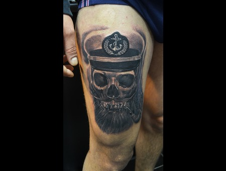 Captain Skull  Thigh