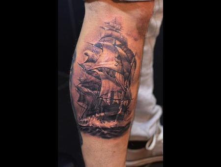 Pirate Ship Lower Leg
