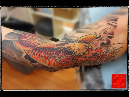 Koi Dragon Arm