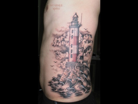 Lighthouse  Sea  Sky Faro  Mar Cielo Ribs