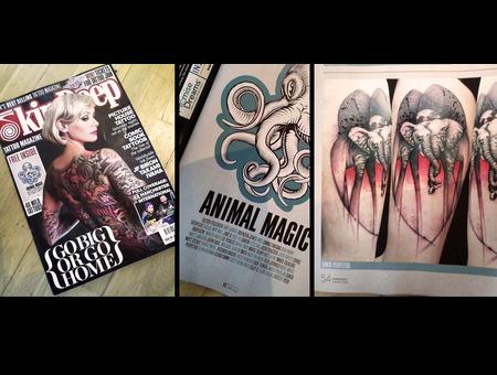 Skin Deep Magazine September Santa Perpetua Head