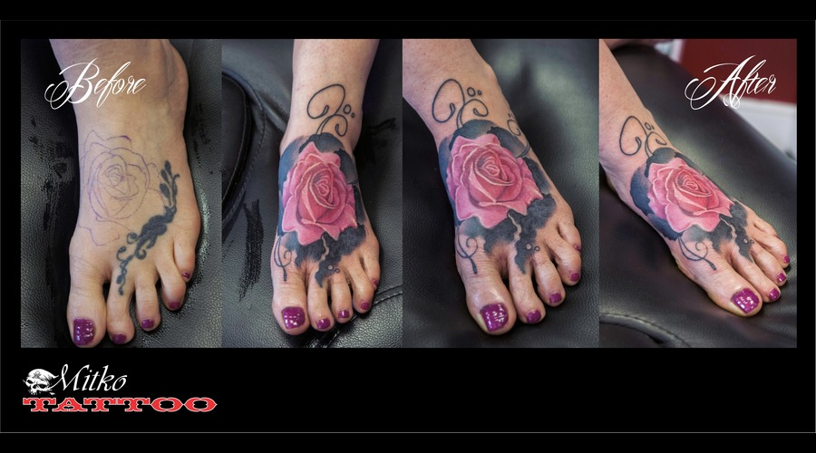 Rose Cover Up Foot