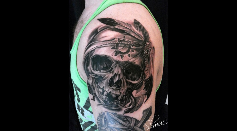 Samohin Design My Artwork  Skull   Shoulder