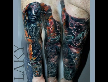 Massive  Coverup  Colour   Arm