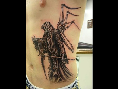 Black And Grey  Grimm Reaper  Fantasy Ribs