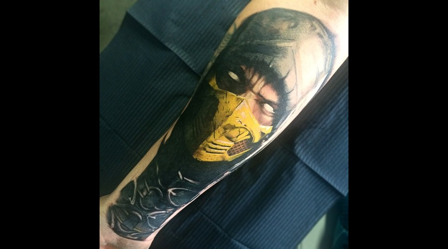 Scorpion Mortalcombat Forearm
