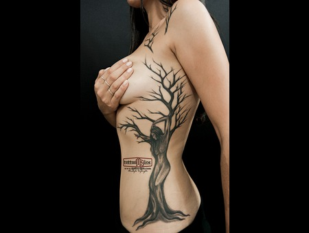 #Treewomen #Realismtattoo Chest