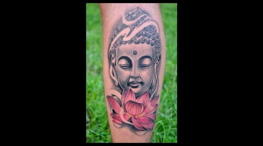 Healed Buddha  Flower Lower Leg