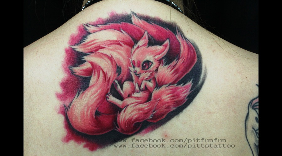 Nine Tails  Colors Back