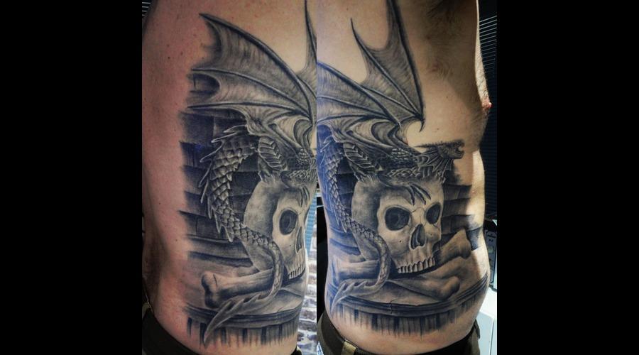 Skull Tattoos  Bird Tattoos  Angel Tattoos  Tattoos  Tattnroll  Tatt'n'roll Ribs