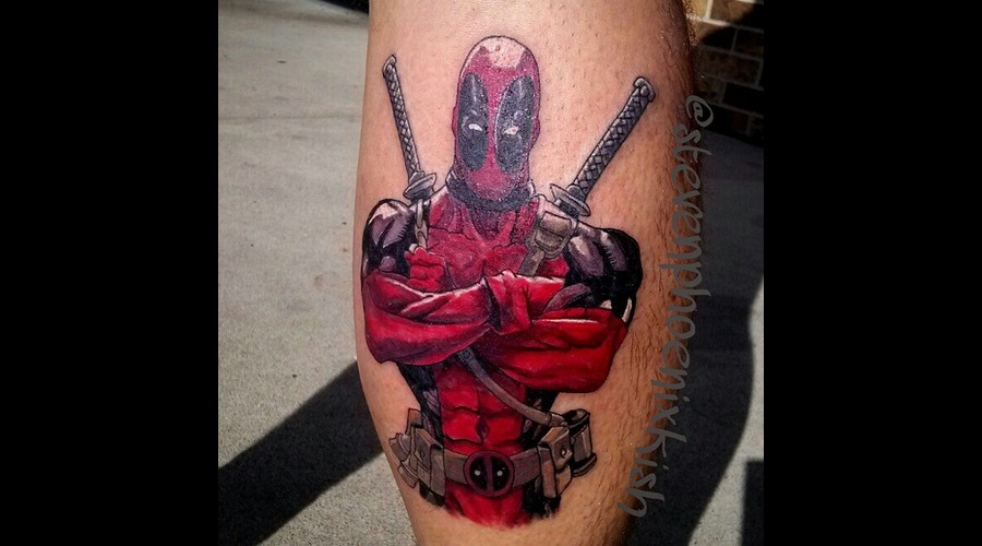 Deadpool  Comic  Marvel  Lower Leg