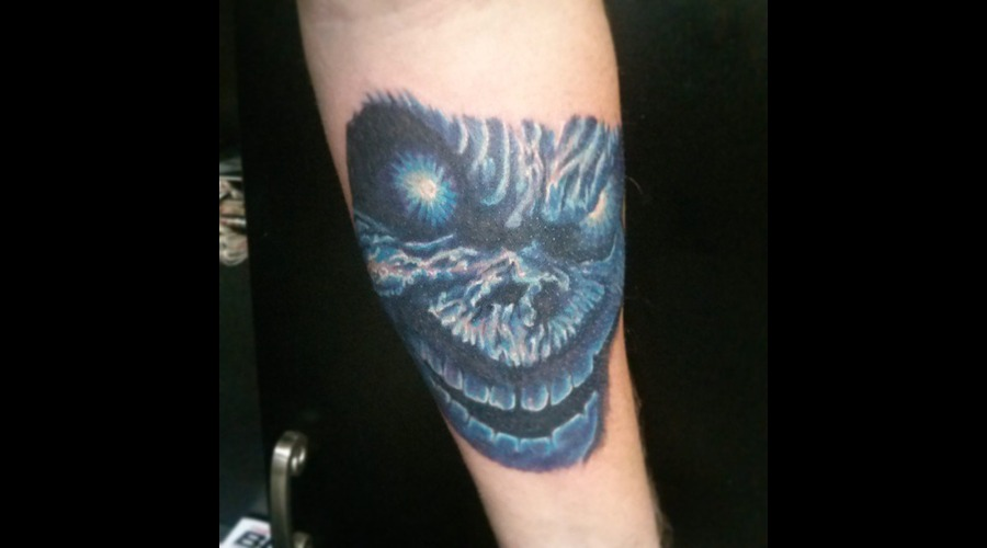 Eddie Tattoo  Iron Maiden  Forearm