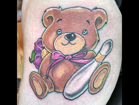 Rework  Teddy Bear  Arm