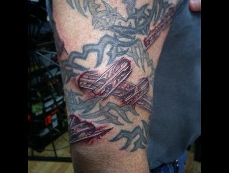 Razor Wire Arm