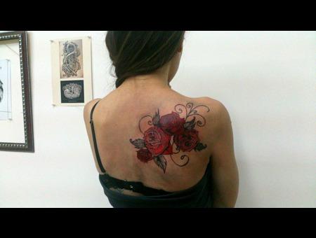 Roses Back