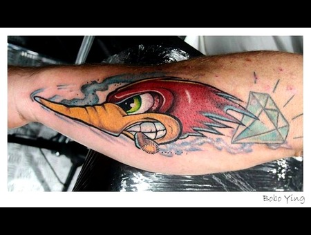 Bird   Cartoon  Forearm