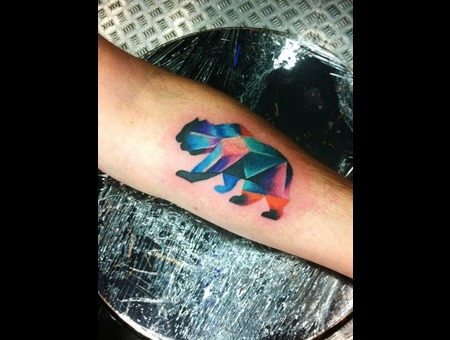 Geometric   Geometric Bear  Color