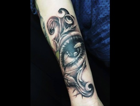 Eye Of Horus   Eye  Forearm