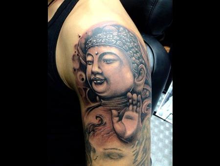 Buddha  Buddha Face Arm