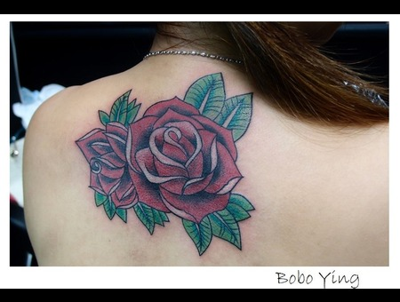 Rose   Rose Design Back