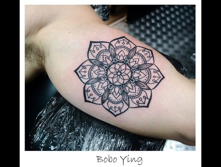 Mandala   Flower Arm