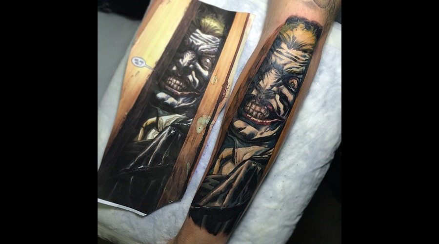 Joker Batman Forearm