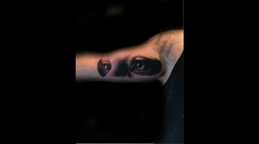 Eyes  Eye  Realism   Arm