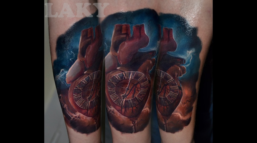 Hearth Tattoo Forearm