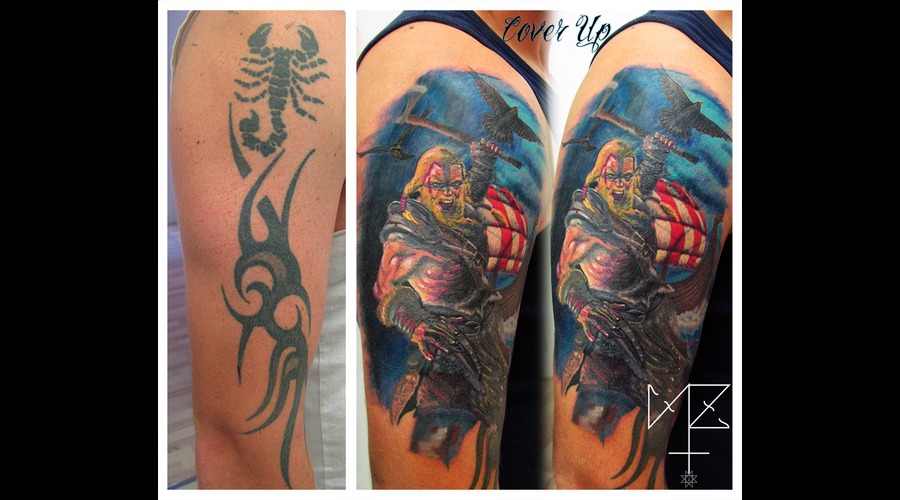 Cover Up Color Viking Color Shoulder
