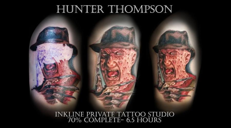 A Nightmare On Elm Street  Fred Krueger  Horror  Portrait Thigh