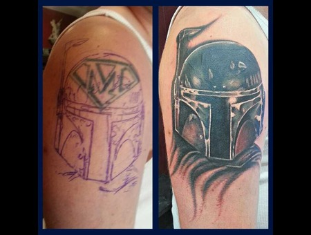 Cover Up  Boba Fett  Star Wars Shoulder