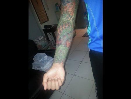 Prince Tattoo Arm
