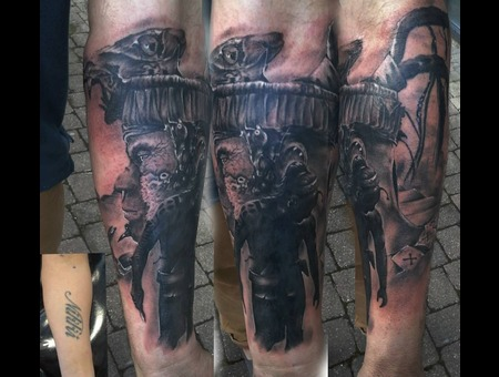 Cover Up Forearm