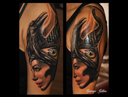 Crow  Eye  Portrait Arm