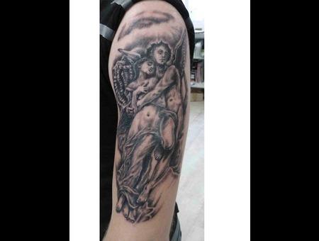 Angels Black  Mythology Arm