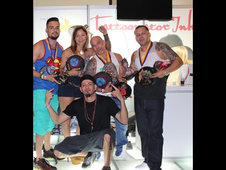 La Isla Tattoo Fest 2014 9 Award