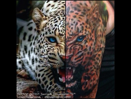 3d  Leopard  Realism  Cat Shoulder