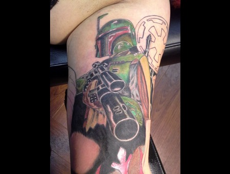 Starwars Bobafett Bountyhunter Arm