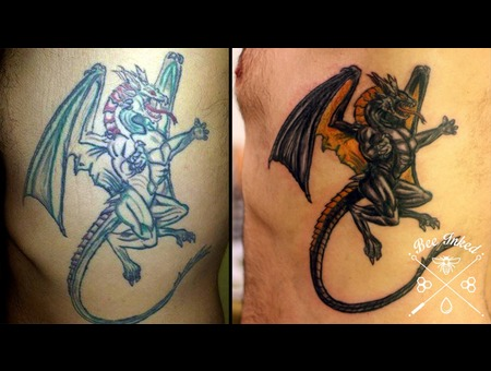 Cover  Up Dragon  Medieval  Ribs