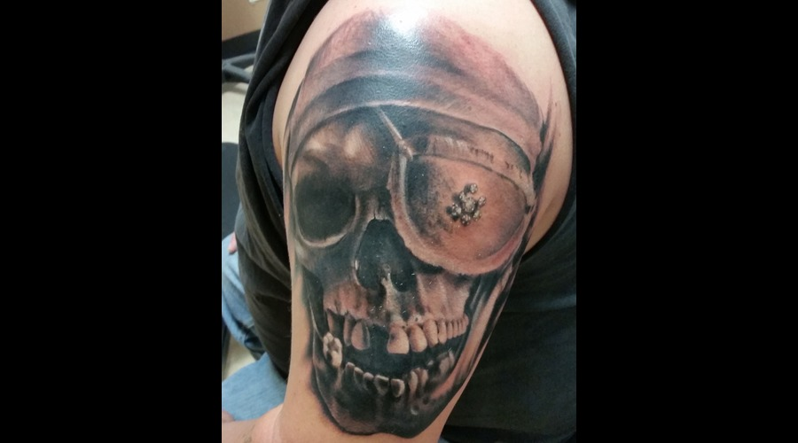 Goonies  Pirate  Skull  Realism Arm