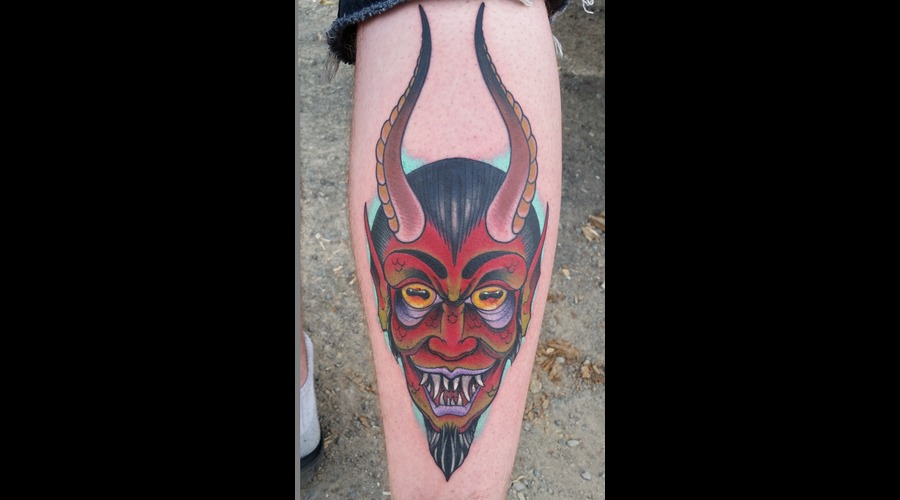 Devil  Traditional Lower Leg