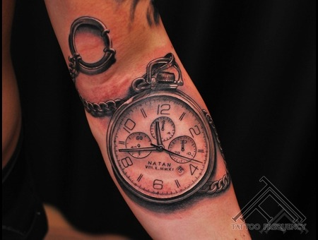Clock Time Cool Tattoo Tattoo Forearm