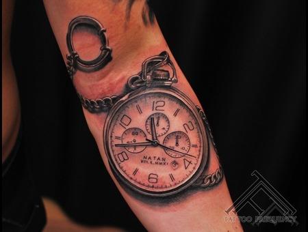 Clock Time Cool Tattoo Tattoo Forearm