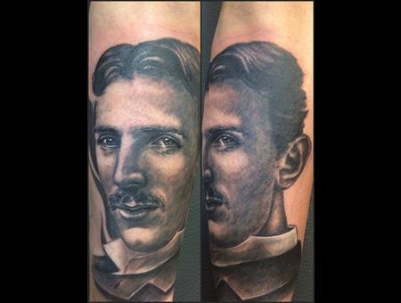 Nikola Tesla  Genious Arm
