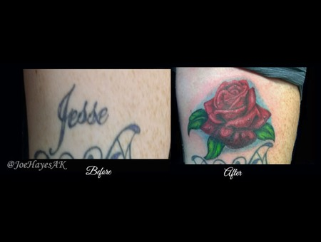 Cover Up  Rose Forearm