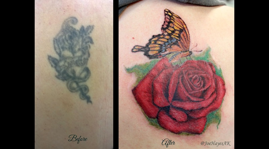 Cover Up  Rose Back